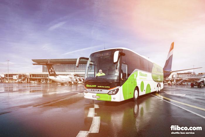 Shuttle bus to and from Hahn Airport